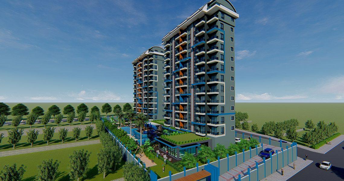 Alanya apartment exodus hill 3