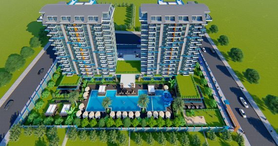 Alanya apartment exodus hill 7